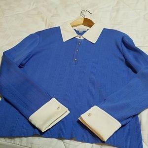 Blue St John Sport Sweater